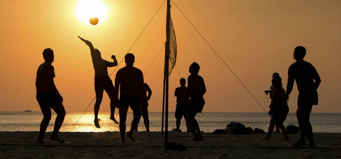 pic of beach games