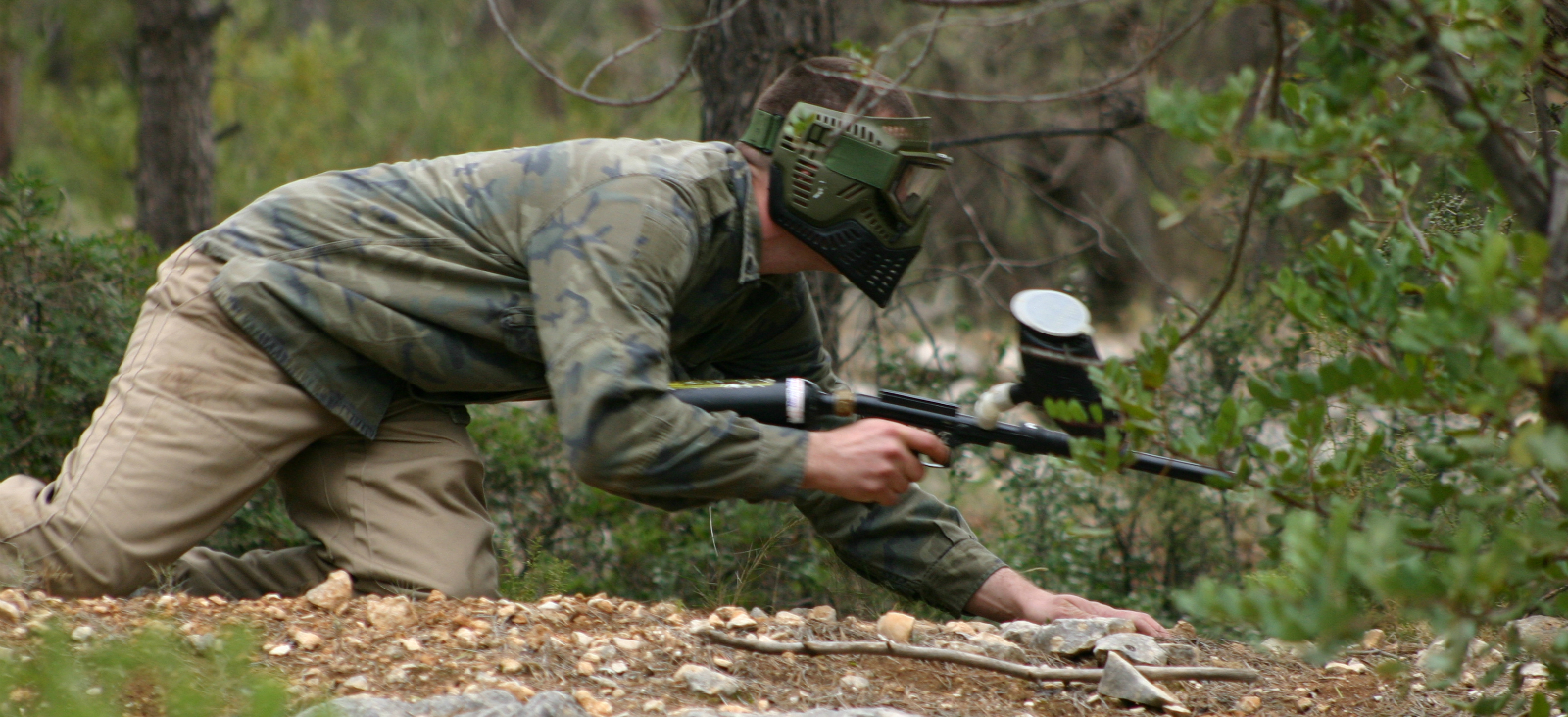 pic of paintball